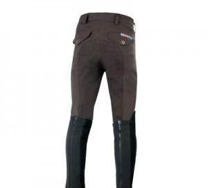 Pantalon montar GrandPrix FullSeat Boys H056