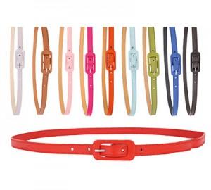 Cinturon cuero sintetico 1.5cm