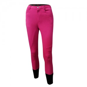Pantalon montar T.Just Calendre knee grip niño
