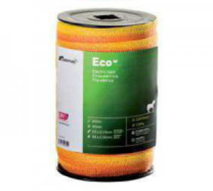 Cinta Pastormatic Eco naranja/amarillo 20mm 200mts