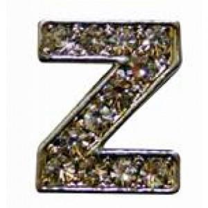Letra Z Norton C/cristales P/frontalera 2cm