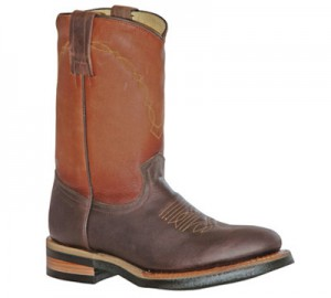 Bota montar western Billy Boots Golden