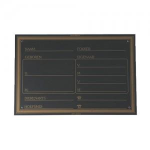 Placa box BR Aleman B062