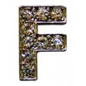 Letra F Norton C/cristales P/frontalera 2cm