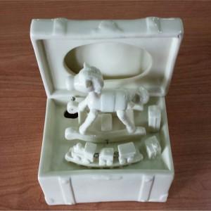 Caja musica ceramica