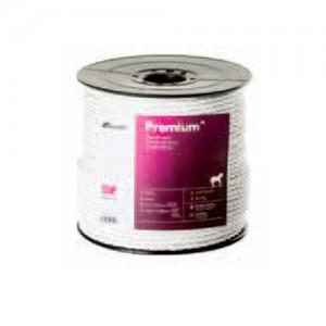Cuerda cercado Pastormatic Premium blanca 5mm 200mts